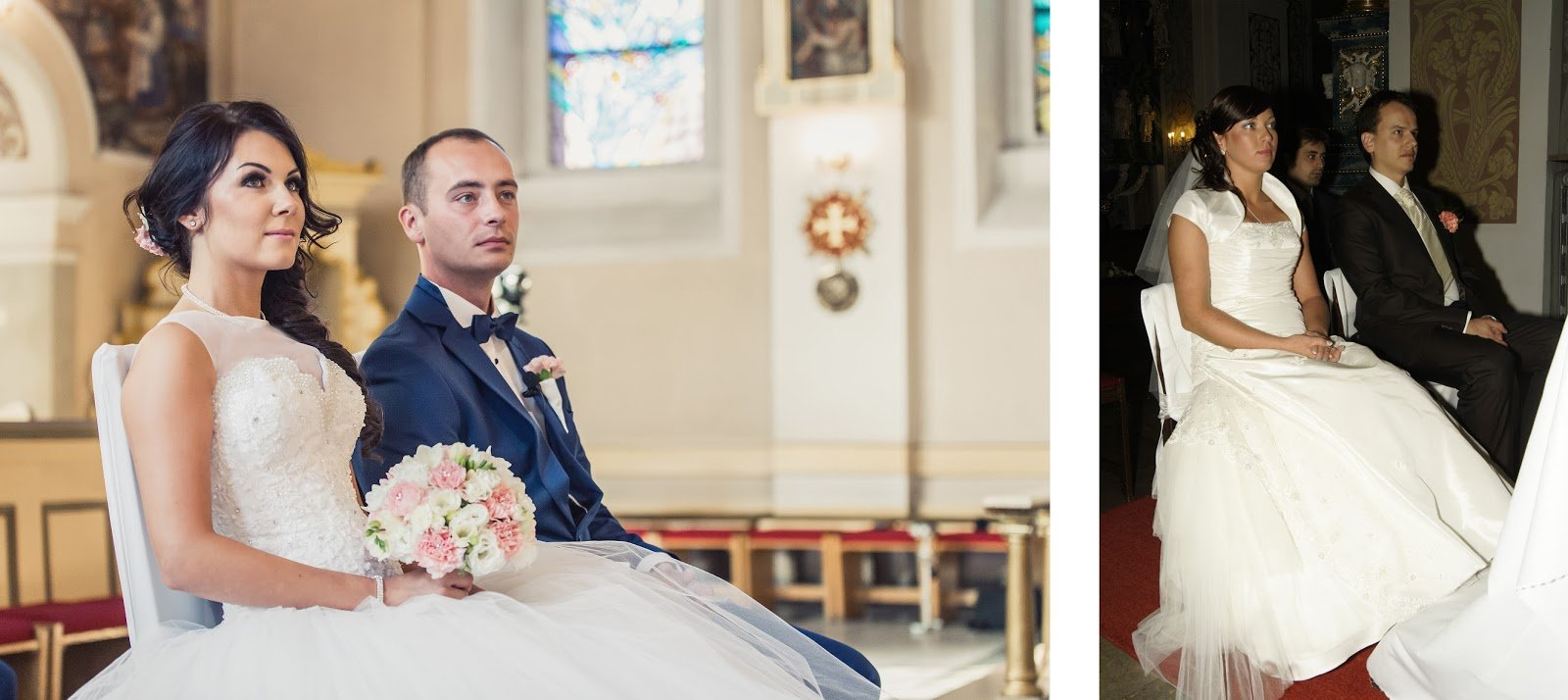 jak wybrać fotografa na ślub - zdjęcia w kościele