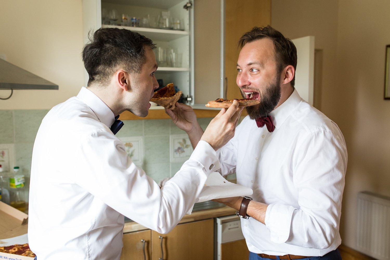 Ostatnia przekąska przed weselem