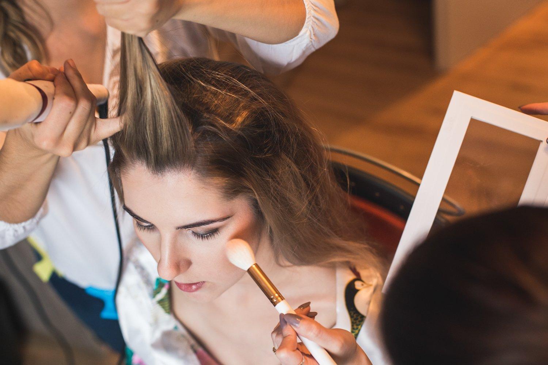 Makeup panny młodej