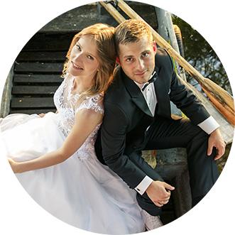 Zdjęcie ślubne Monika i Joel