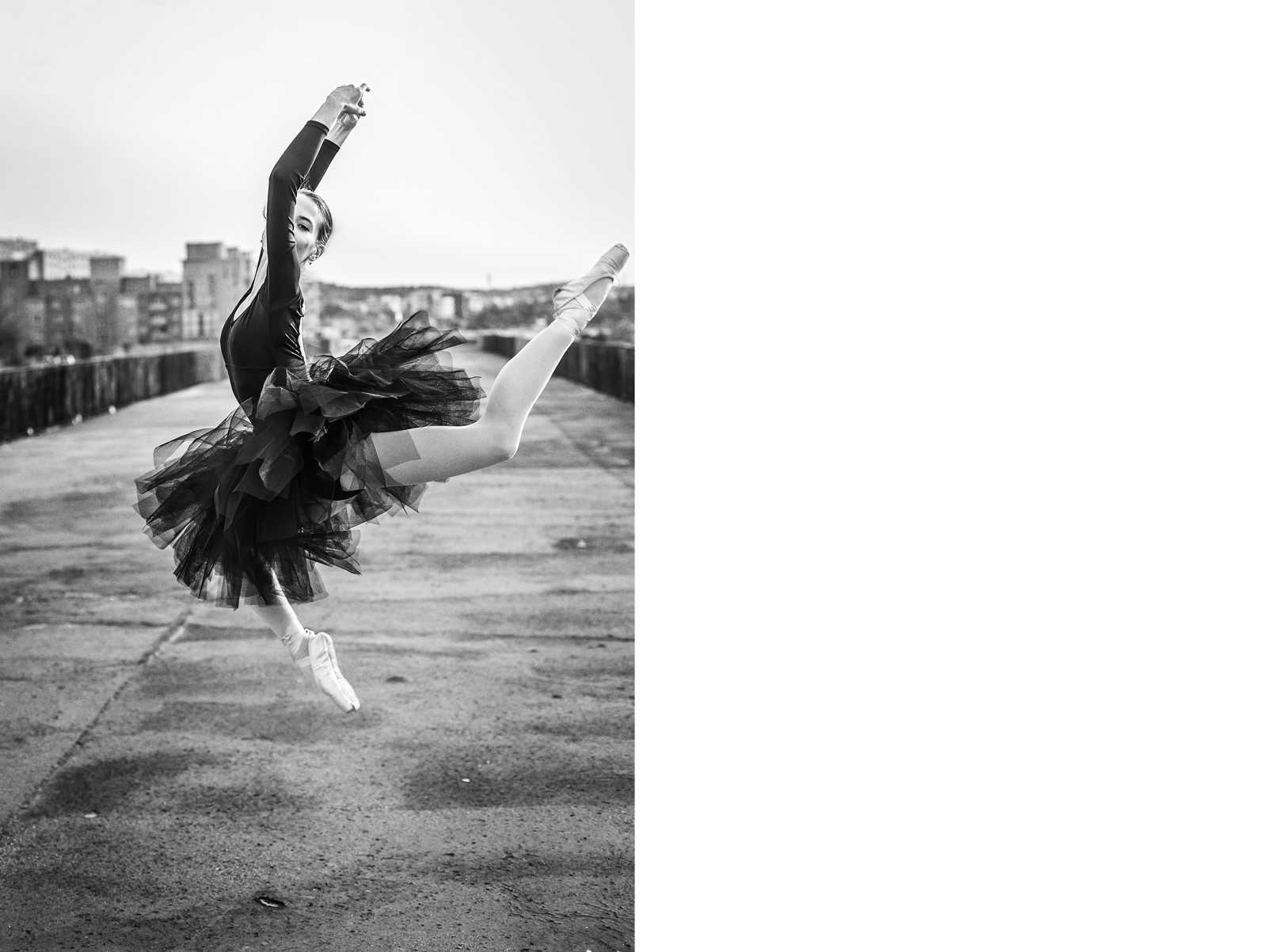 Sesja zdjęciowa - baletnica