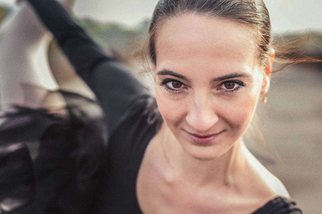 Portret baletnicy