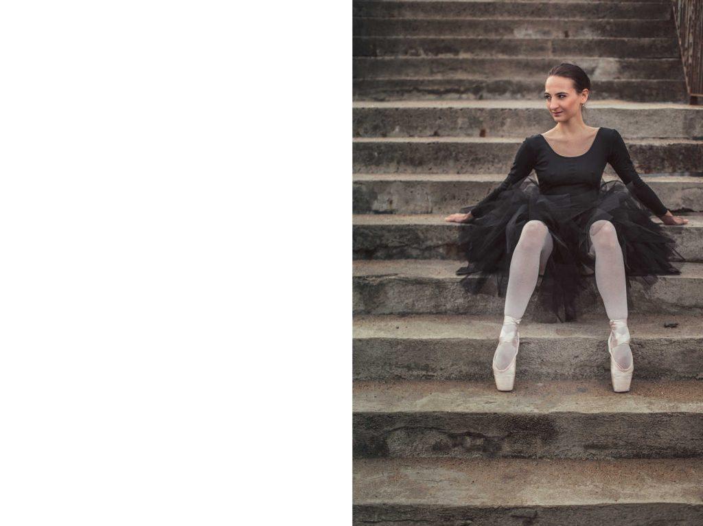 Sesja portretowa baletnicy