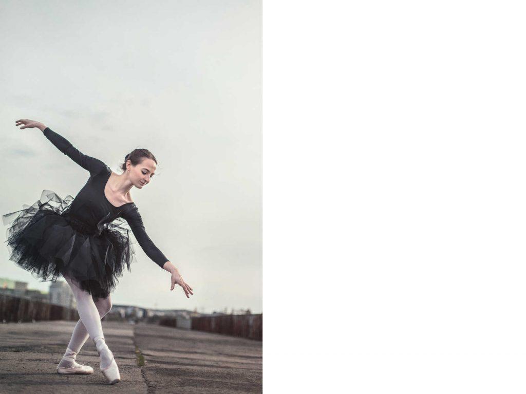 Sesja z baletnicą
