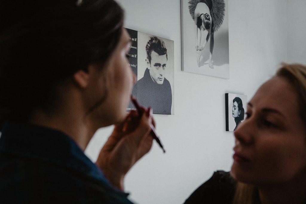 makeup ślubny w poznaniu