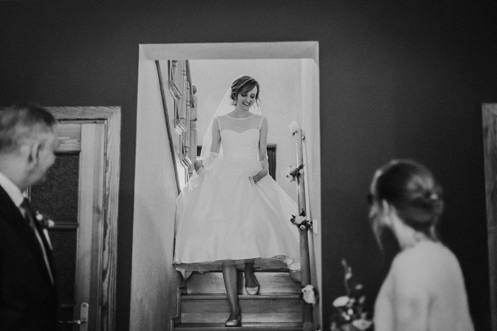 ślub międzynarodowy first look