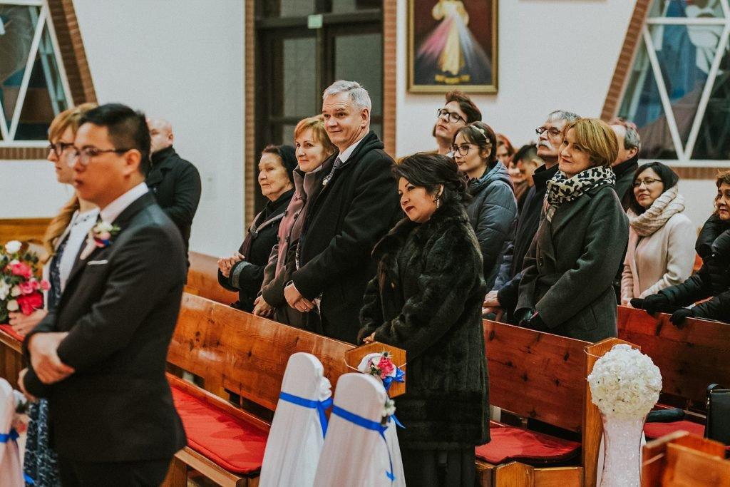 ślub międzynarodowy - ceremonia