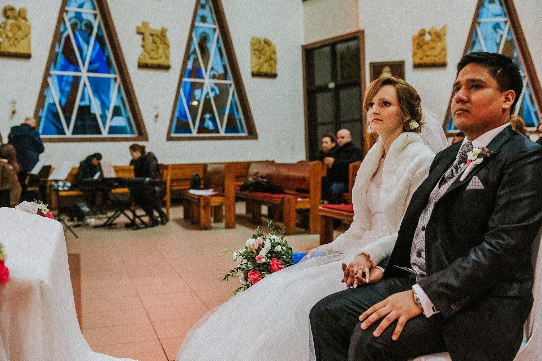 ślub polsko-peruwiański - ceremonia