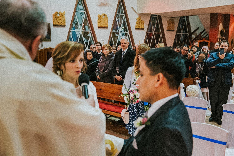 przysięga podczas ślubu międzynarodowego