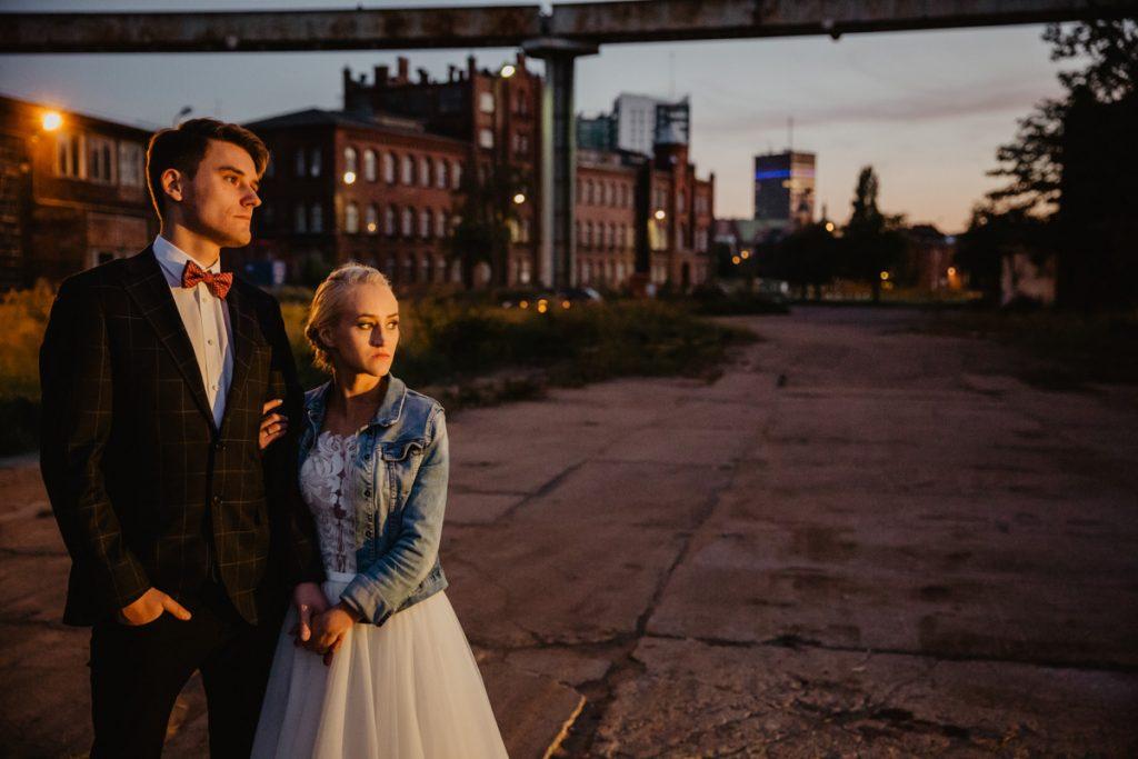 sesja ślubna na stoczni w gdańsku