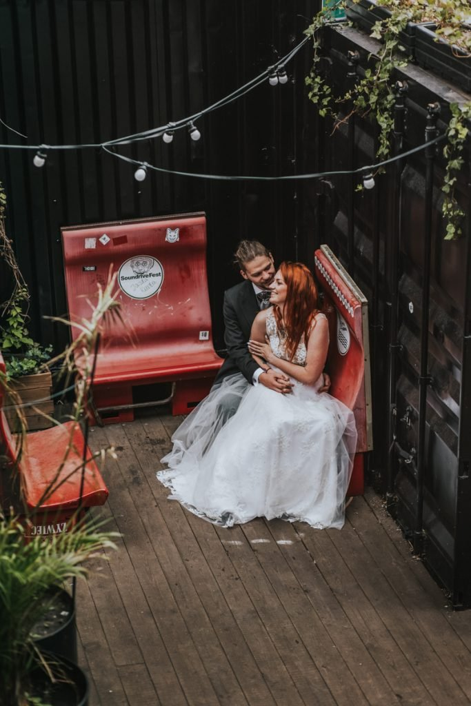 zdjęcia ślubne na stoczni