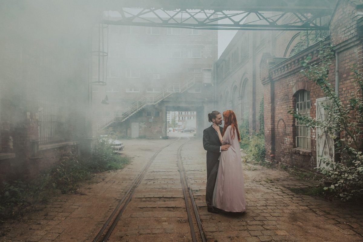 zdjęcia ślubne na stoczni cesarskiej